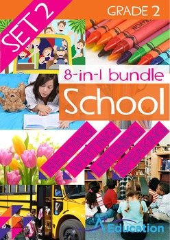8-IN-1 BUNDLE- School (Set 2) – Grade 2