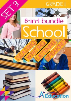8-IN-1 BUNDLE- School (Set 3) - Grade 1