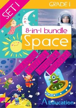 8-IN-1 BUNDLE - Space (Set 1) - Grade 1