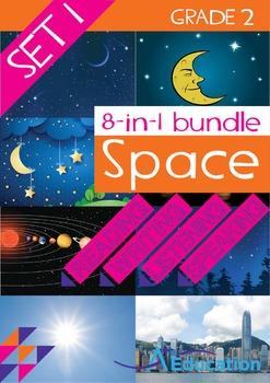 8-IN-1 BUNDLE - Space (Set 1) - Grade 2
