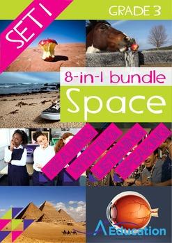 8-IN-1 BUNDLE - Space (Set 1) - Grade 3