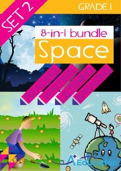 8-IN-1 BUNDLE - Space (Set 2) - Grade 1