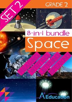 8-IN-1 BUNDLE - Space (Set 2) - Grade 2