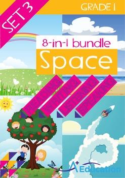8-IN-1 BUNDLE - Space (Set 3) - Grade 1