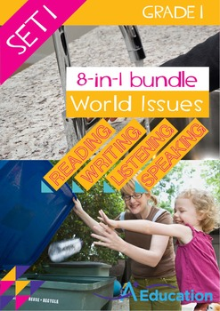 8-IN-1 BUNDLE - World Issues (Set 1) - Grade 1
