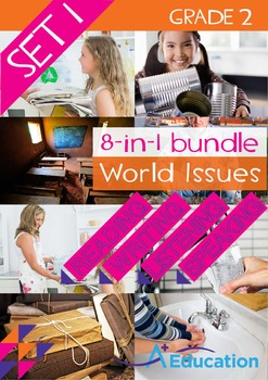 8-IN-1 BUNDLE - World Issues (Set 1) - Grade 2