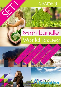 8-IN-1 BUNDLE - World Issues (Set 1) - Grade 3