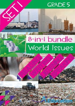 8-IN-1 BUNDLE - World Issues (Set 1) - Grade 5
