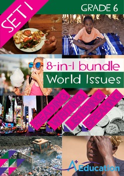 8-IN-1 BUNDLE - World Issues (Set 1) - Grade 6