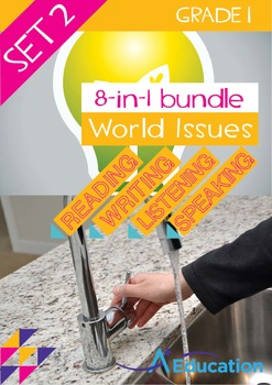 8-IN-1 BUNDLE - World Issues (Set 2) - Grade 1
