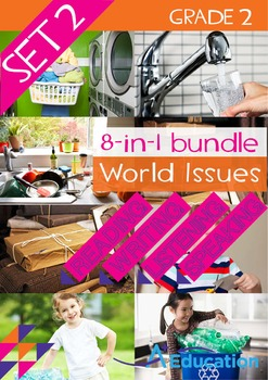 8-IN-1 BUNDLE - World Issues (Set 2) - Grade 2