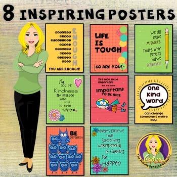 8 Inspiring Classroom Posters