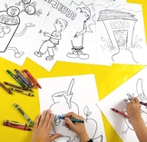 8 Jewish High Holidays Coloring Pages for Kids   Rosh Hash