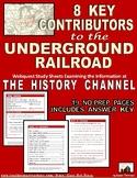 Underground Railroad: 8 Key Contributors: Webquest | Dista