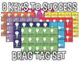 8 Keys Brag Tags