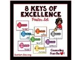8 Keys of Excellence Poster Set