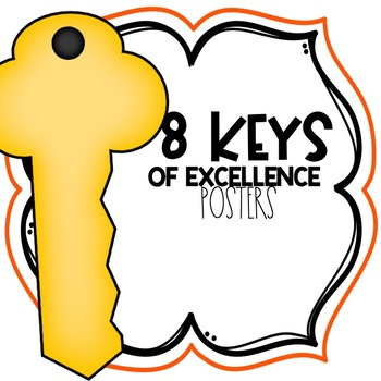 8 Keys of Excellence Posters