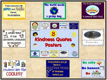 8 Kindness Quotes Posters