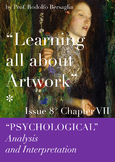 """8 """"Learning all about Artworks"""" - Ch VII - Psychological analysis"""