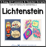 8 Lichtenstein: Famous Artists Lessons (from Art History for Elementary 2)