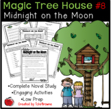 #8 Magic Tree House- Midnight on the Moon Novel Study