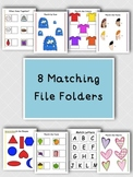 8 Matching File Folders for Kids with Autism