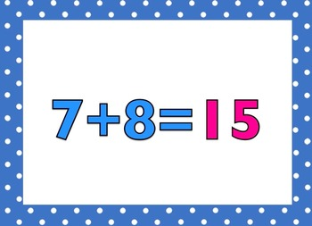 +8 Math Facts (with answers)