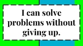 """8 Math """"I Can"""" Statements for Elementary / MIddle School C"""
