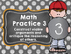 8 Math Practices- Chalkboard Theme Posters