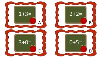 8 Math Read and Write Around the Rooms