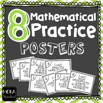 8 Mathematical Practice Posters