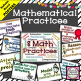 8 Mathematical Practice Posters Math Decor