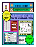 8 Mathematical Practices Centers TableTent Poster TaskCard