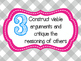 8 Mathematical Practices Pink and Gray Gingham (Common Core)