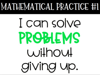 8 Mathematical Practices Posters