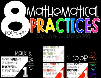 8 Mathematical Practices - Posters