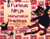8 Ninja Mathematical Mindset Practices --Posters and Exit Slips for Reflection