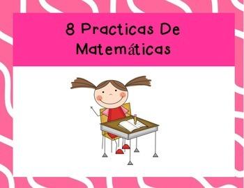 8 Mathematical Practices Spanish