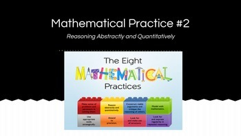 8 Mathematical Standards - #2