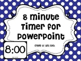 8 Minute Timer for PowerPoint