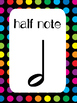 8 Music Notes Posters/Anchor Charts for your Classroom.
