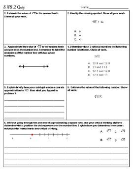 8.NS.2 Quiz