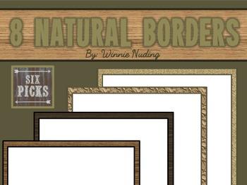 8 Natural Borders