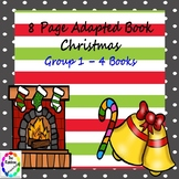 8 Page Adapted Book - Christmas Group 1 (4 Books)