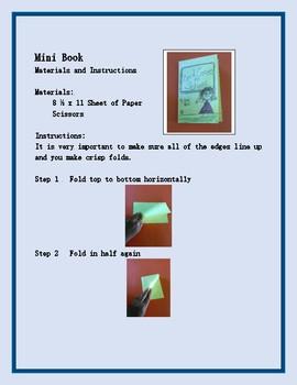 8 Page Mini Book Project