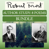 """8-Poem Author Study: Robert Frost's """"Birches,"""" """"The Road N"""