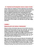 8+ Preschool and Kindergarten Science Lessons Bundle