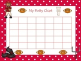 8 Printable Boy themed Potty Charts.