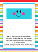 8 Printable Shapes Posters with Shape Poems. Preschool Shapes.