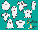 8 Scary Halloween Ghosts